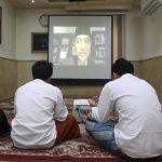 Nonton bareng seminar online di Aula Sekretariat IKPM Cabang Kairo. (Sumber: Dok. IKPM Cabang Kairo)