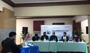 Informatika Discussion Forum (IDF), di Wisma Nusantara. (Sumber: Dokumentasi Informatika/Indri)