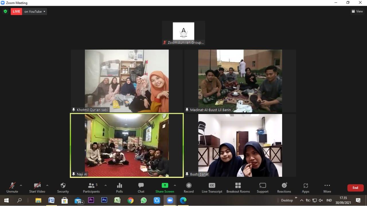 WhatsApp Image 2021 10 01 at 04.41.44 - Gamajatim  Adakan HUT Berkonsep Semi Online di Lima Titik Tempat Berbeda